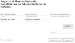 guia de registro plataforma subes